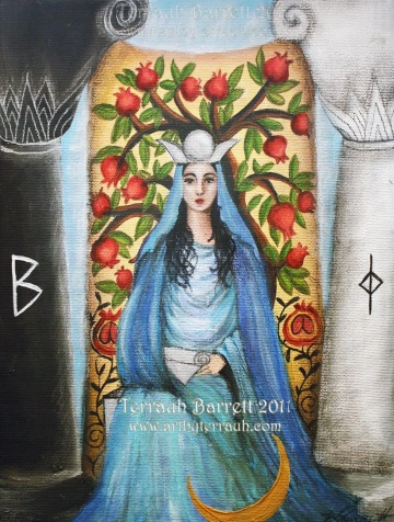 The High Priestess Traits in the Tarot - Psychic Madeline Rose